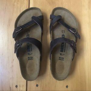 Mocha Brown Mayari Birkenstock Sandal